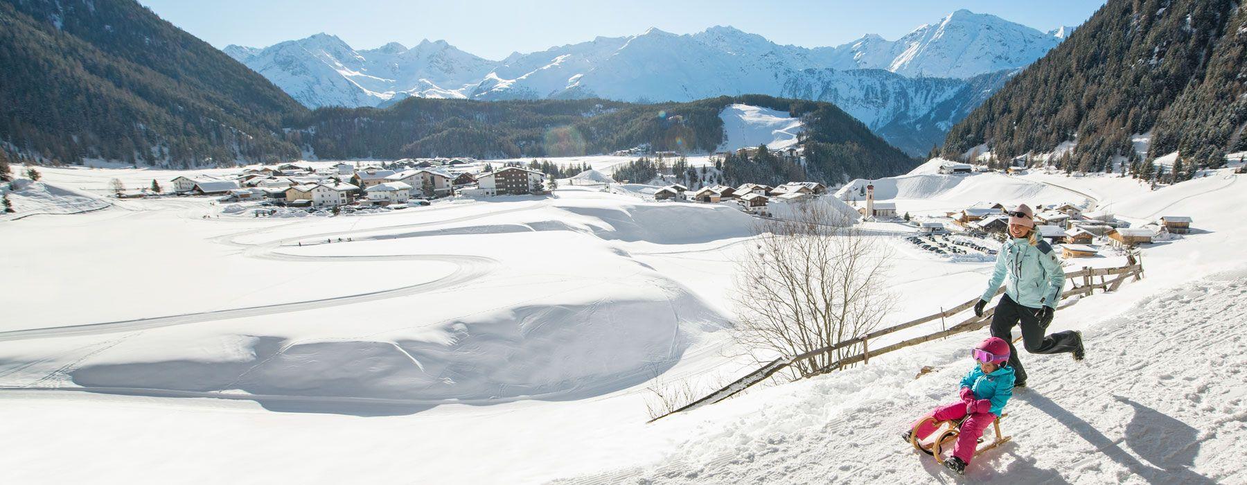 Niederthai im Winter