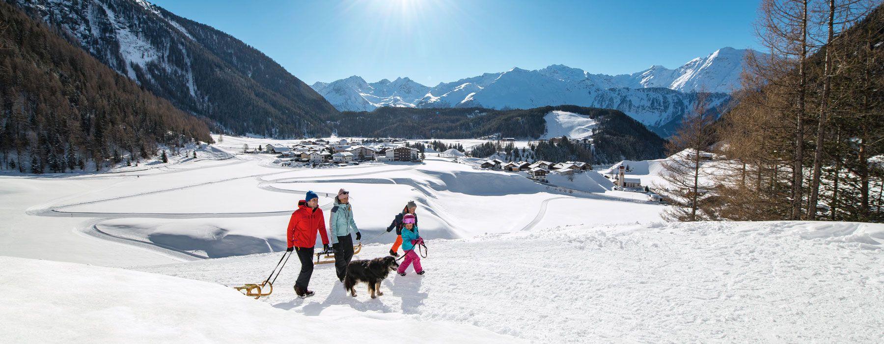 Winterurlaub in Niederthai